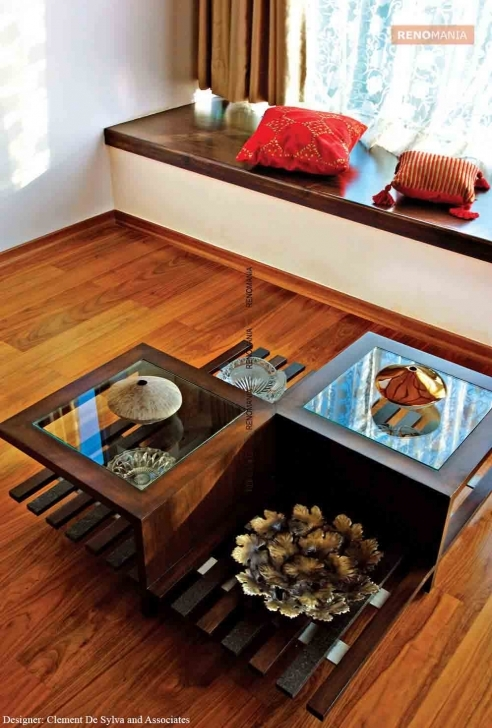 Interesting Tables – Center Of Attraction - Renomania Wooden Centre Table Designs With Glass Top