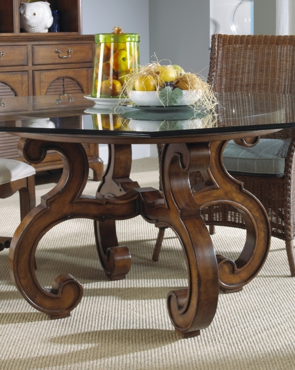 Top Dining Table Designs With Glass Top With Awesome Classic Wooden Wooden Dining Table Design With Glass Top